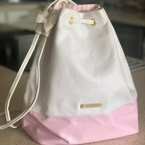 Juicy Couture pink/white backpack